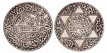 Morocco. 2 1/2 Dirhams. 1299.