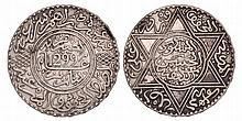 Morocco. 10 Dirhams. 1299.