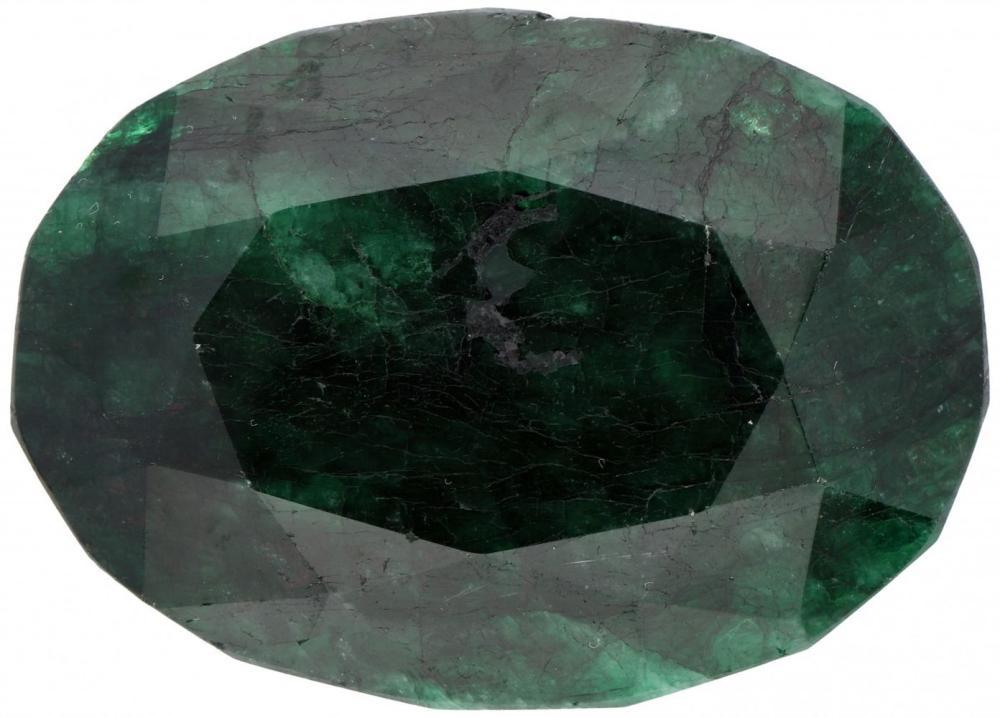 GLI Certified Natural Emerald Gemstone 532.000 ct.