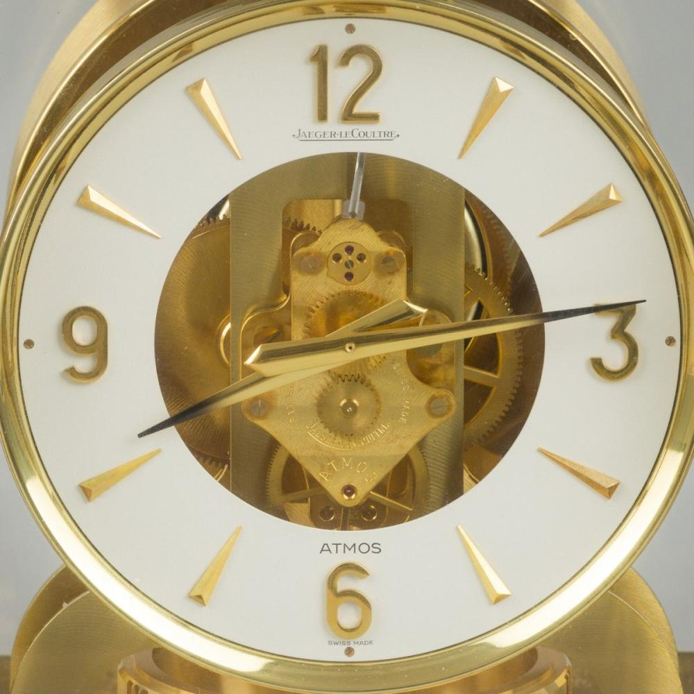 A Jaeger-LeCoultre Atmos-table clock, Switzerland, 20th century.
