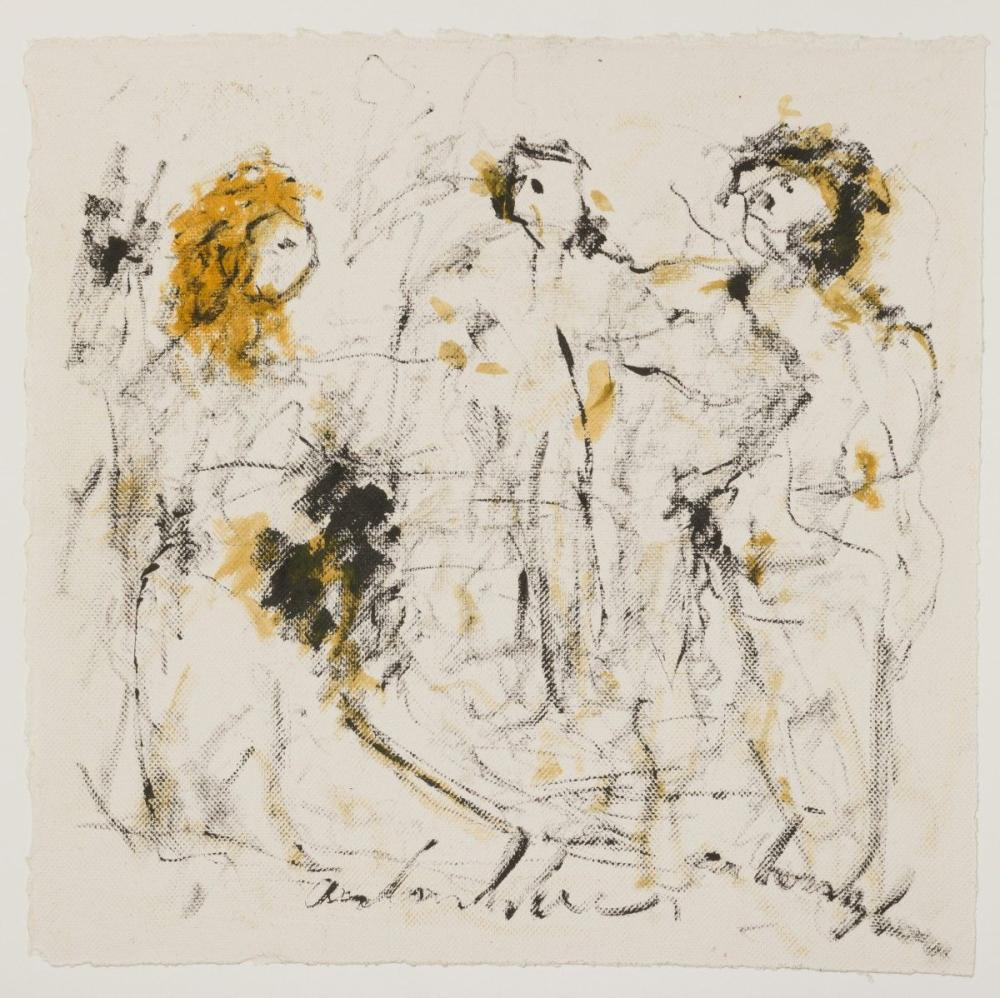 Anton Heyboer (Sabang (Indonesië) 1924 - 2005 Den Ilp) - Three Graces.