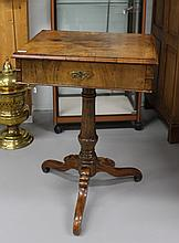 A sewing table, Germany, circa 1880.
