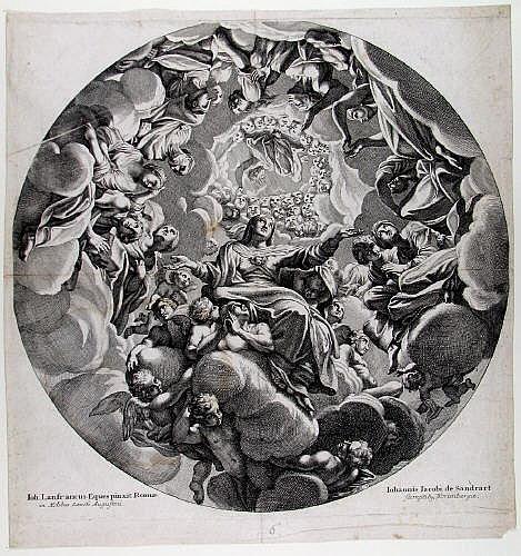 Sandrart, Johann Jakob von (Regensburg 1655 - 1698
