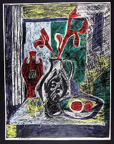 Rudolph, Hans (1911 - 1983). Stilleben Krügen und