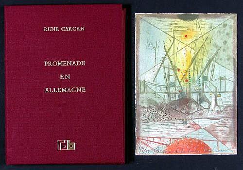 Carcan, René (Brüssel 1925 - 1993). Promenade en