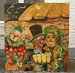 Guy Olivier (1964), oil on board, Café de Ridder,