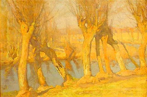 Jacobs, G. (1865-1958), oil on canvas, Pollard