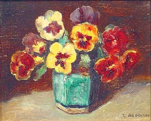 Ven, E. van de (1866-1944), oil on canvas,