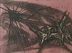 Ru van Rossem (1924), lithograph, Apocalypse, sig.