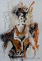 Guy Olivier (1964), mixed media, sig. t.l., dated