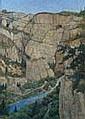 Lodeizen, J. (1892-1980), oil on board, Mountain, J. Lodeizen, Click for value