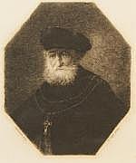 William Unger (1837-1932), gravure uit 1885,