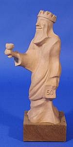 Louis Wierts (1944, Schinnen), clay sculpture on