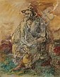 Stern, Yossi (1923-1992; Israel), mixed media, Old, Yossi Stern, Click for value