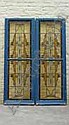2 leaded glass windows, studio Jaap Gidding, Jaap Gidding, Click for value