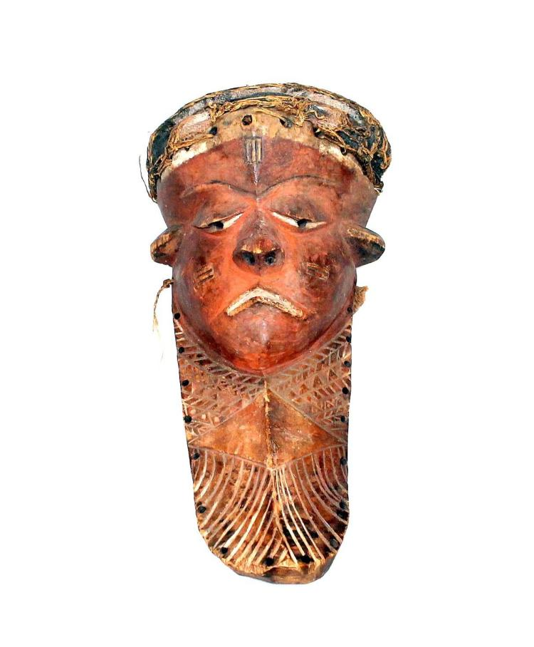 Een Pende masker.