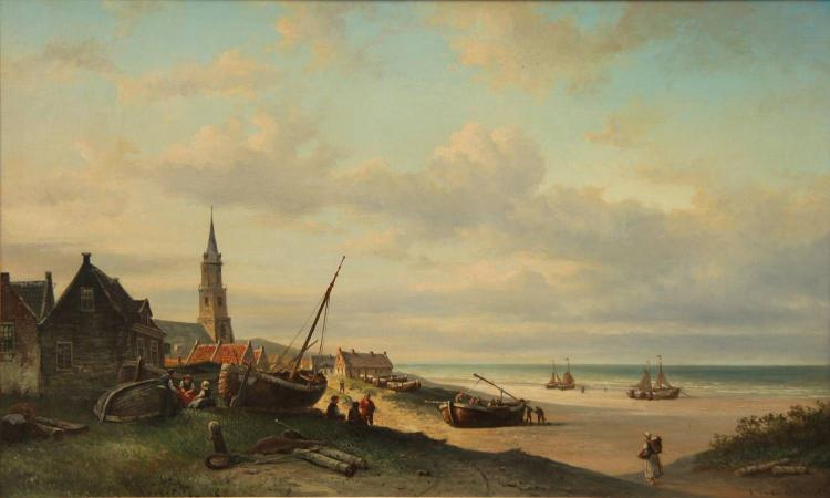 Elias pieter van bommel 1819 1890 for Elias v fishing