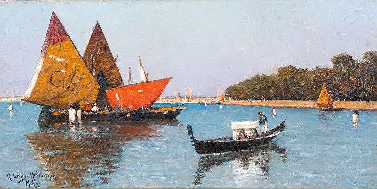 Richard Lang- Heilbronn (1861-1963)