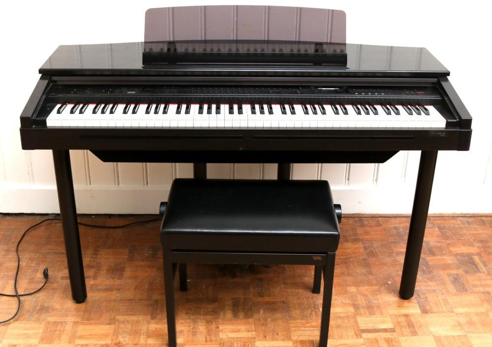 Een elektrisch orgel yamaha clavinova for Yamaha clavinova clp 110