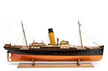 A model of the steamship 'Magdalena'