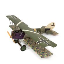 A model of a Pfalz D12 airplane