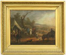 Omgeving Jan van Huchtenburgh (17/18e eeuw)