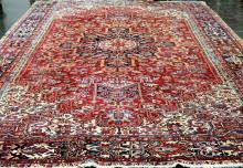 Een Perzisch tapijt.