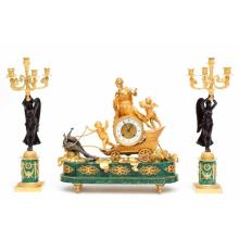 Spring Auction: Asian and European Ceramics, Clocks, Sculptures and Modern Glass