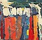 Dora Tuynman (1926-1979) Abstracte compositie