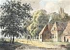 Cornelis Gerrit Verburgh (1802-1879) Paard en