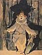 Albert Pieter Hahn (1877-1918) Een paljas r.b., Albert Hahn, Click for value