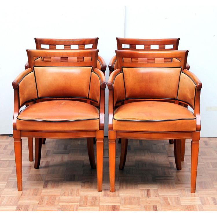 Love Seats Stoelen.Vier Art Deco Stijl Stoelen