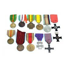Diverse medailles (WOII).