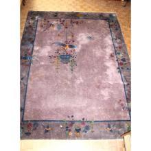 Een groot gekleurd tapijt. (Chinees)