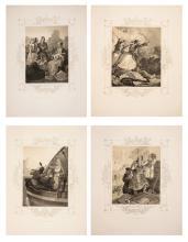 HESS, Peter von. [Griechenlands Befreiung, in XXXIX Bildern entworfen von Peter von Hess].