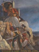 Elias Adzitiris (Greek, 19th century), Τ. Kanakaris raids and seizes Patras