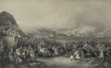 His Majesty King Otto of Greece entering Nauplion on 25 January 1833 (Munich, F. Hanfstaengl, 1836)