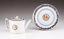 A Qianlong tea pot