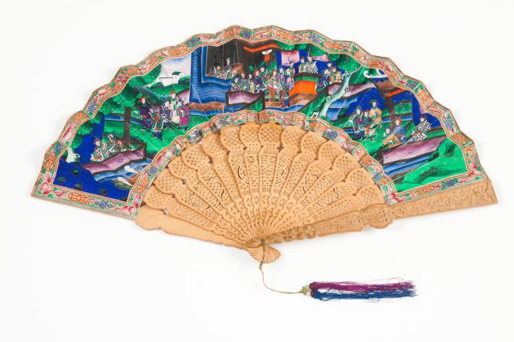 A Chinese fan