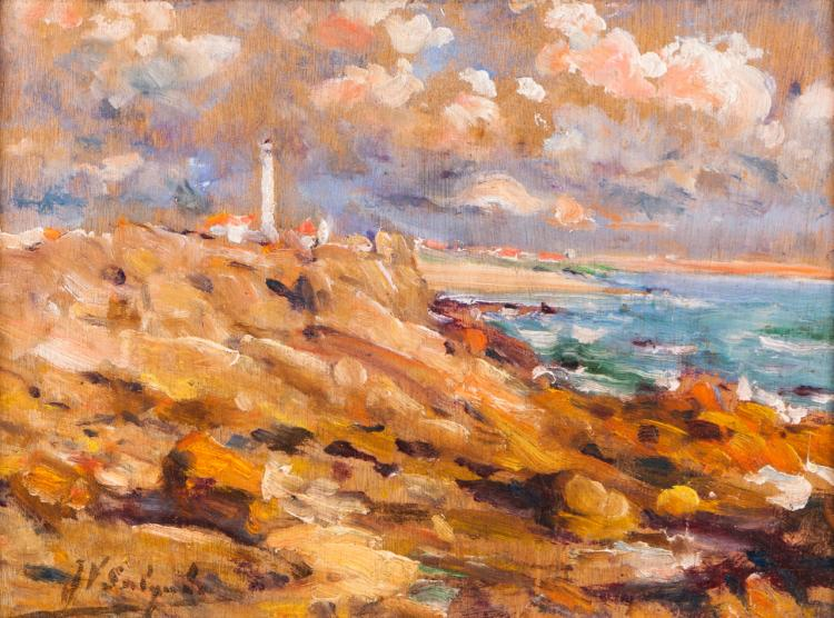 Landscape with Boa Nova lighthouse (Leça da Palmeira)