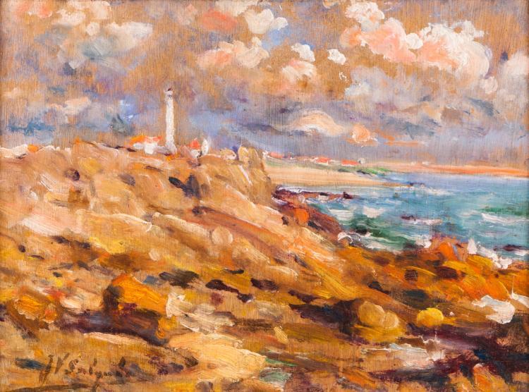 Landscape with Boa Nova lighthouse (Leça da Palmeira)
