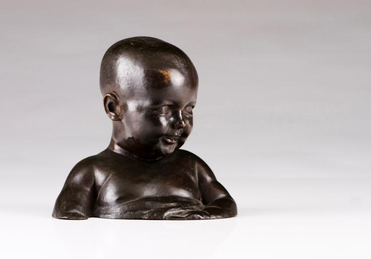 A child's bust