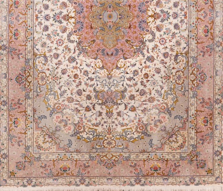 A Tabriz carpet, Iran