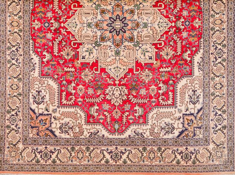 An Ardabil carpet, Iran