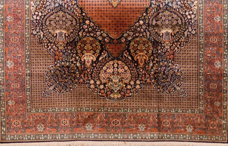 An Oriental carpet, India