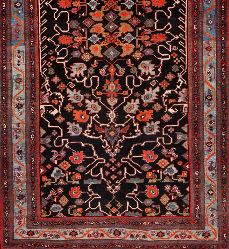 A Malayer carpet, Iran