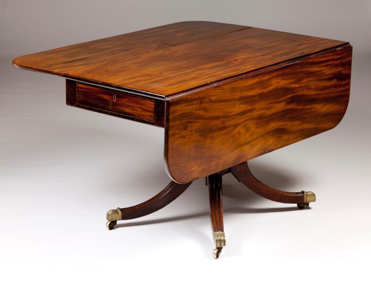 A twin flat top table