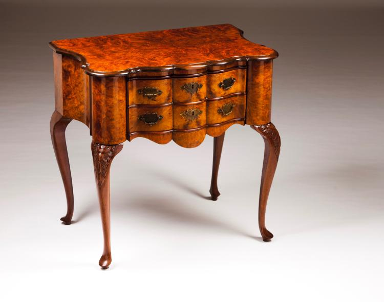 A pair of George II style commodes