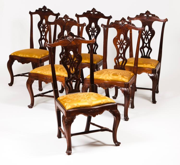 A set of six D. José chairs