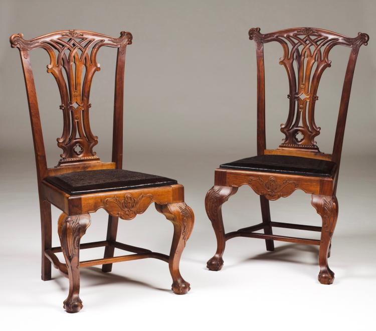 A pair of D. João V (1707-1750)/ D. José (1750-1777) chairs